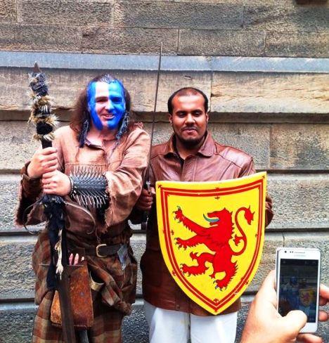 La Scozia di Damiano