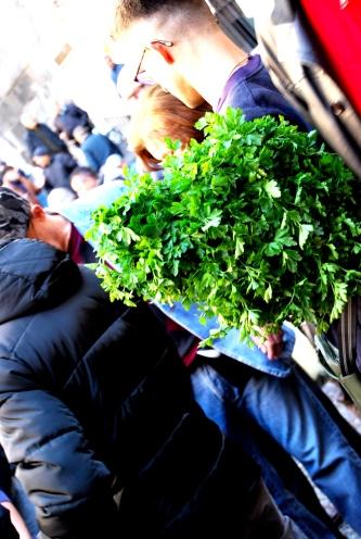 Al mercato a Catania. A Piscaria