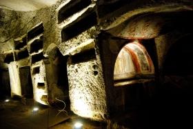 Un aperitivo in catacomba