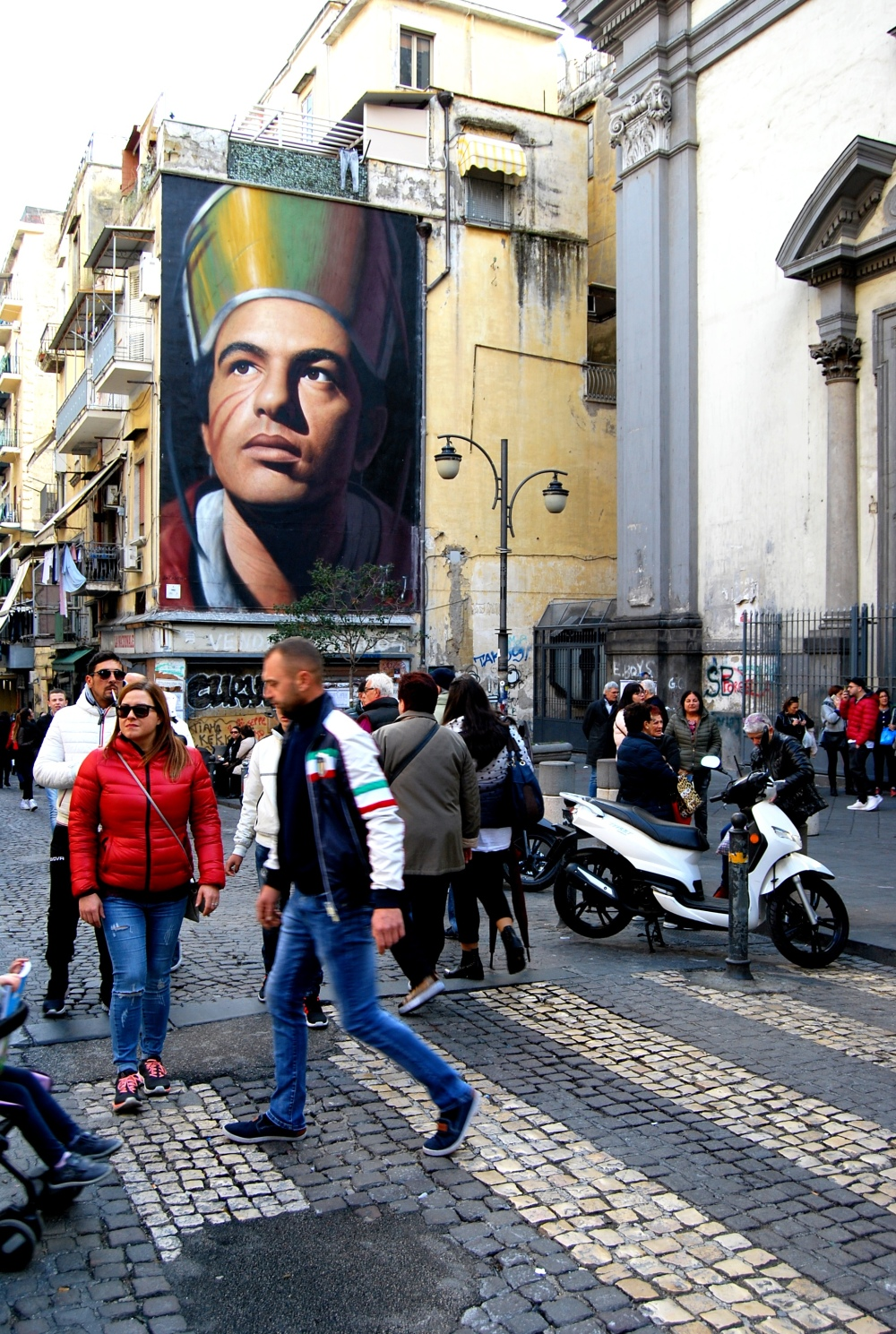 Street art a Napoli