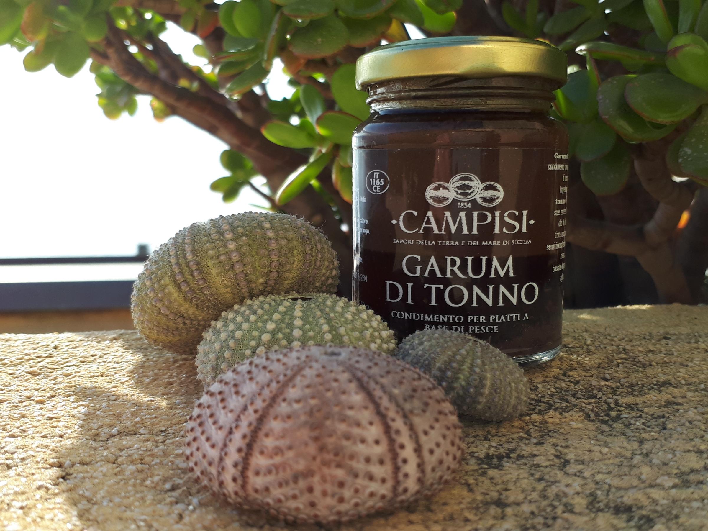 Il garum di tonno prodotto dalla ditta Campisi