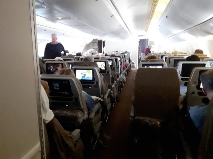 In volo per Singapore