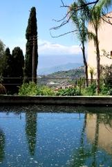 Casa Cuseni - il giardino sull'Etna e sul golfo di Taormina