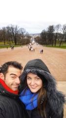 Oslo con Rachel e Dino