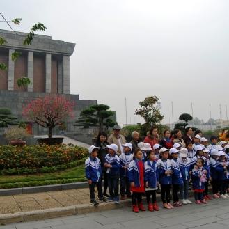 Hanoi Mausoleo Ho Chi Minh