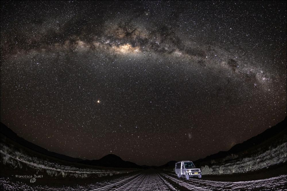 African sky. Namibia, Naukluft National Park
