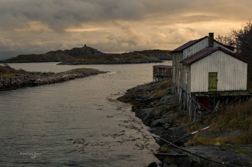 Lofoten lights. Norvegia - Lofoten Islands