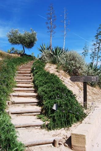 Il sentiero per il Sorìa Sky Lounge