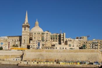 Valletta dal traghetto