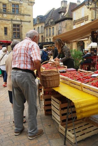 Il mercato a Sarlat