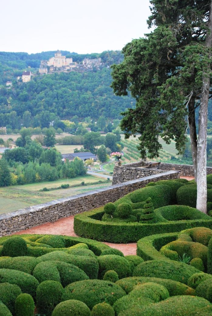 La vallata dai Giardini di Marqueyssac
