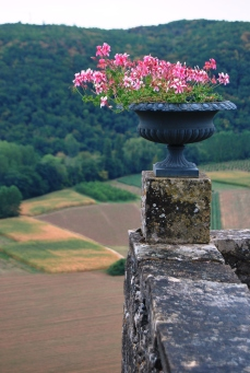 Il panorama dai Giardini di Marqueyssac