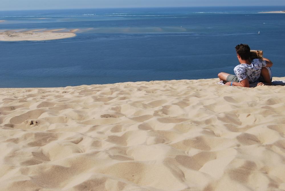 La Dune du Pilat. Stretta tra oceano e foresta