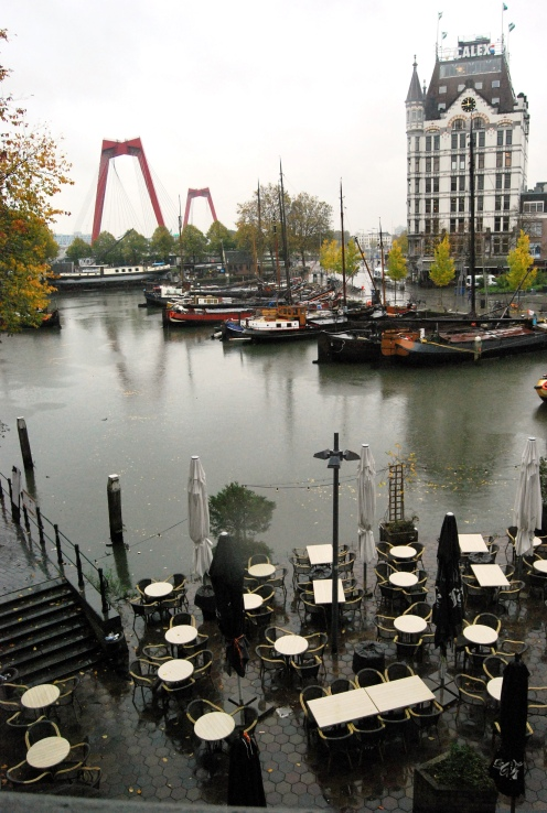 Oude Haven. Witte Huis e il Willemsbrug