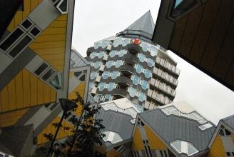 Cube Houses and Blaaktoren