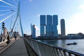 Il De Rotterdam dall'Erasmus