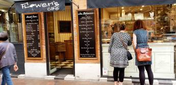 Flower's café