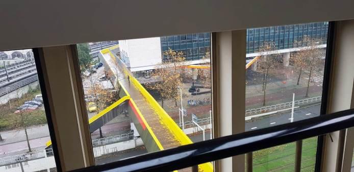 Luchtsingel, il ponte giallo
