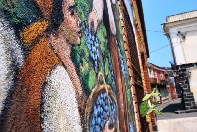 Street art con IntrArt a Linguaglossa