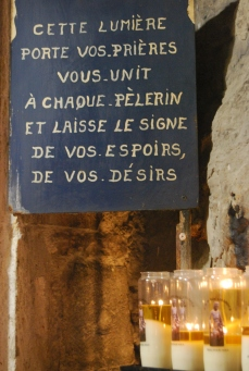 La fede a Rocamadour