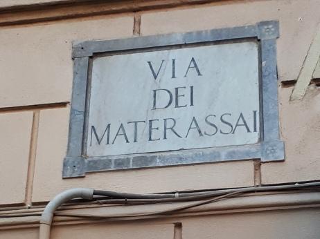 Via dei Materassai a Palermo