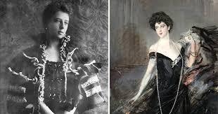Foto web - Franca Florio e il celebre ritratto di Boldini