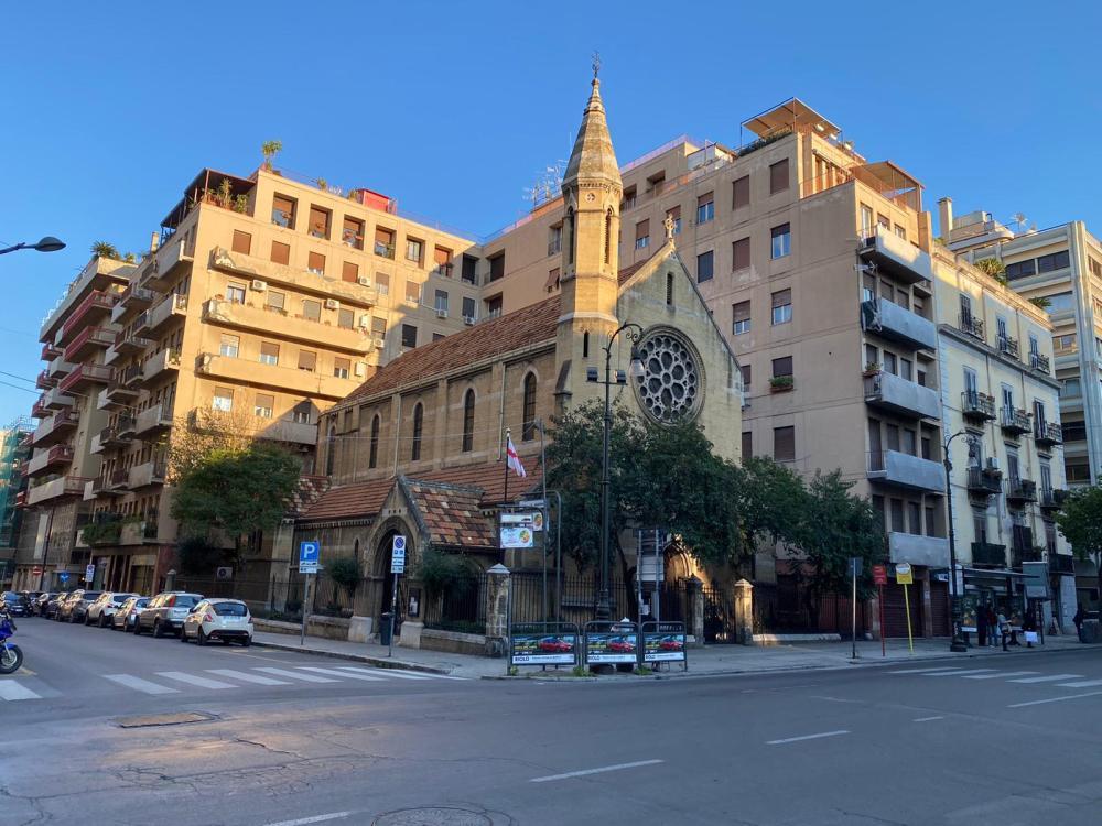 Chiesa Anglicana della Santa Croce a Palermo