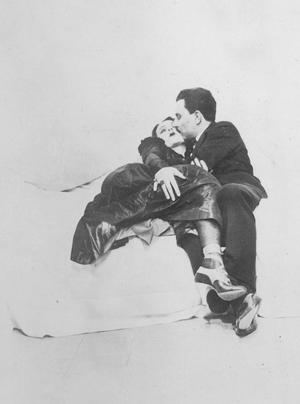 Vincenzo Junior e Lucie Henry