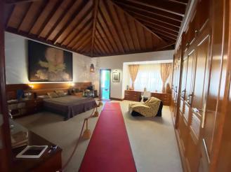 Una delle due camere da letto. Dependance