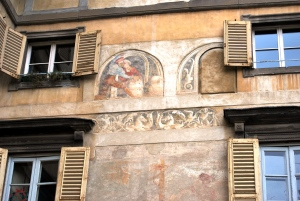 Bergamo. Città Alta. Piazza Nuova