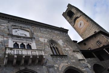 Bergamo. Città Alta. La Torre Civica