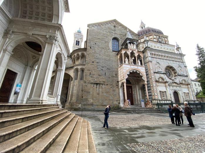 Bergamo. Piazza Duomo