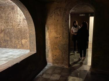 Le vecchie cisterne di fermentazione