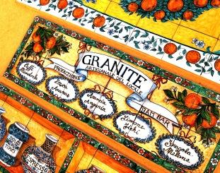 Il Bam bar a Taormina specializzato in granite