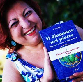 Anna Martano e il suo libro di cunti e ricette