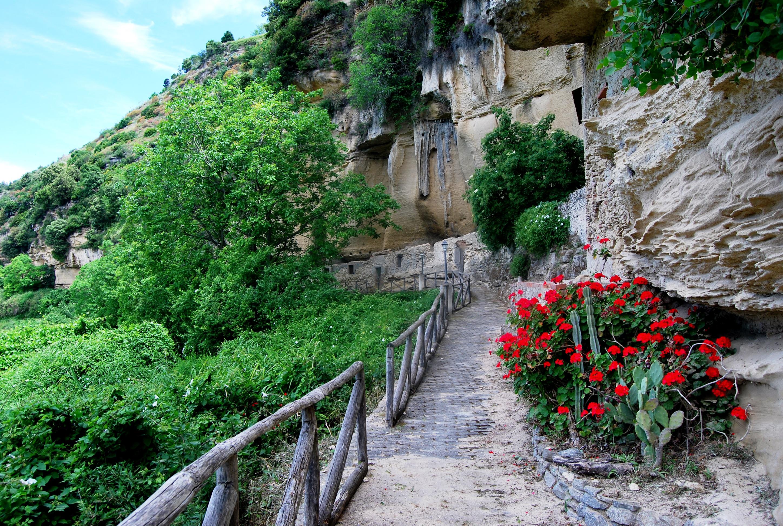 Tesori siciliani. Le Grotte Saracene