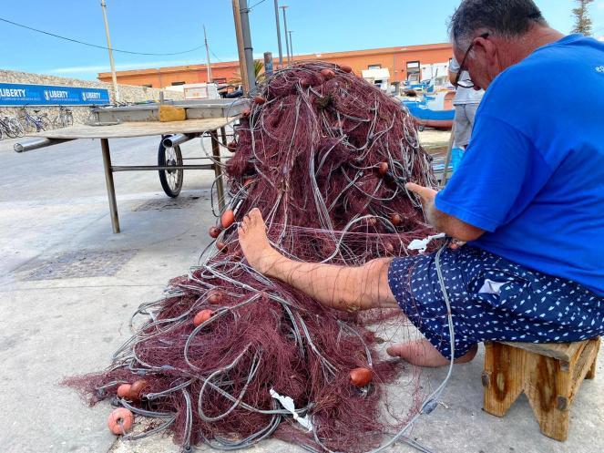 Storie di pesca e di cialome a Favignana