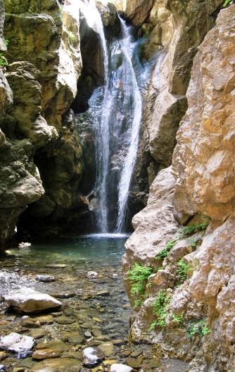 La Cascata del Catafurco sulla Serra dei Ladri