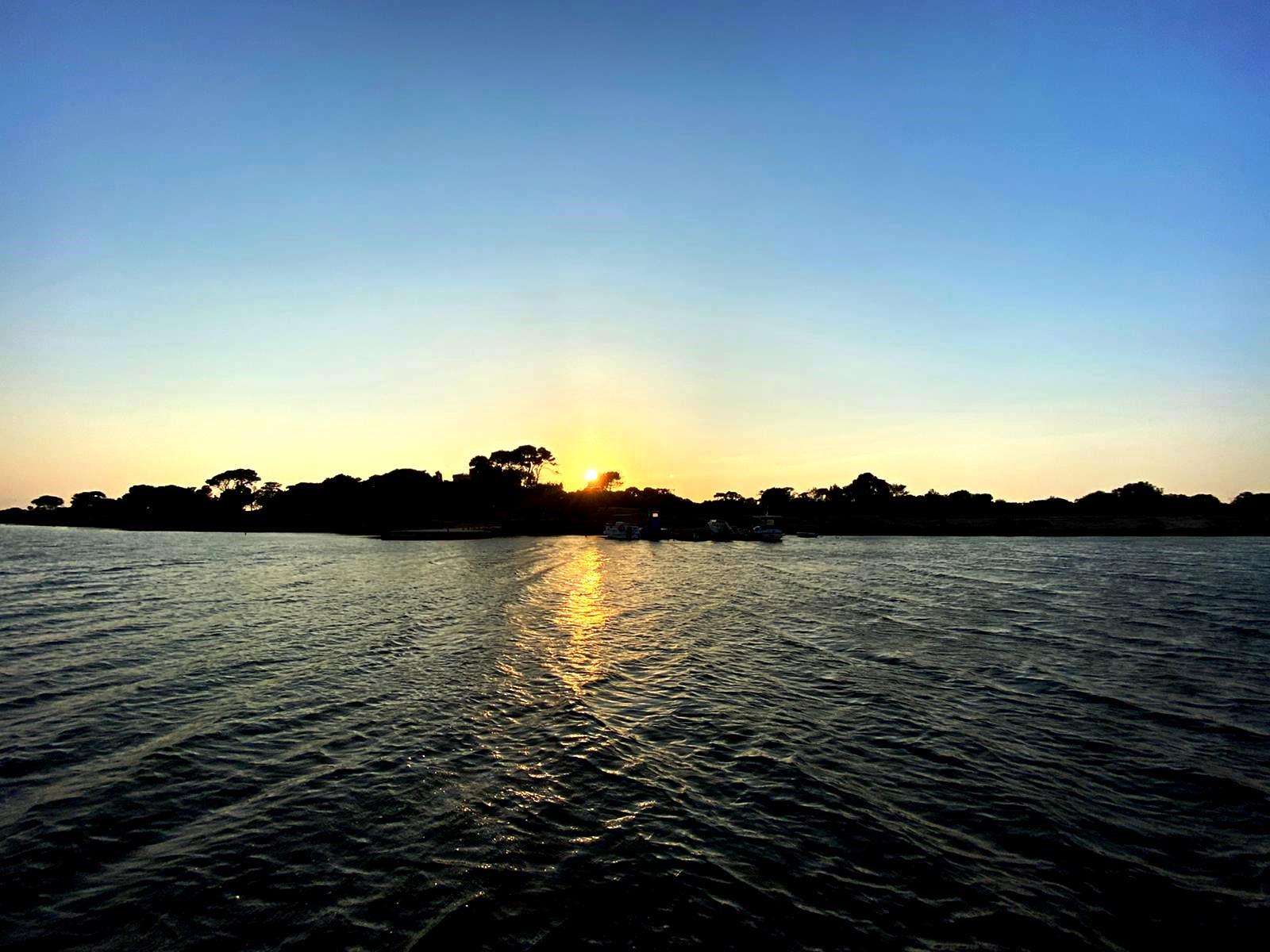 Aspettando il tramonto su Mozia, l'isola dei fenici