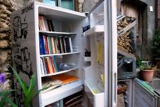 E se quel vecchio frigo diventasse libreria per tutti?
