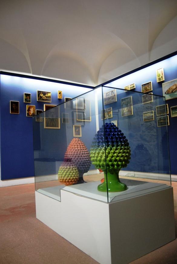 La pinacoteca all'interno del Museo Civico di Castelbuono