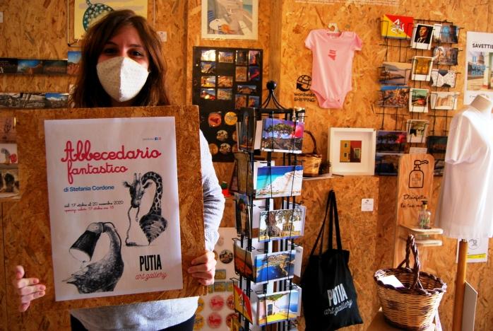 Stefania Cordone e la mostra Abbecedario fantastico da Putia Art Gallery