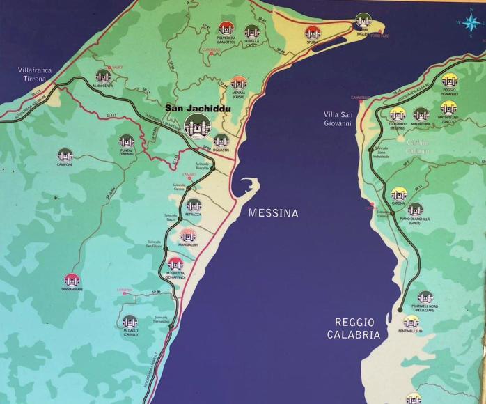I Forti Umbertini e le altre aree di avvistamento