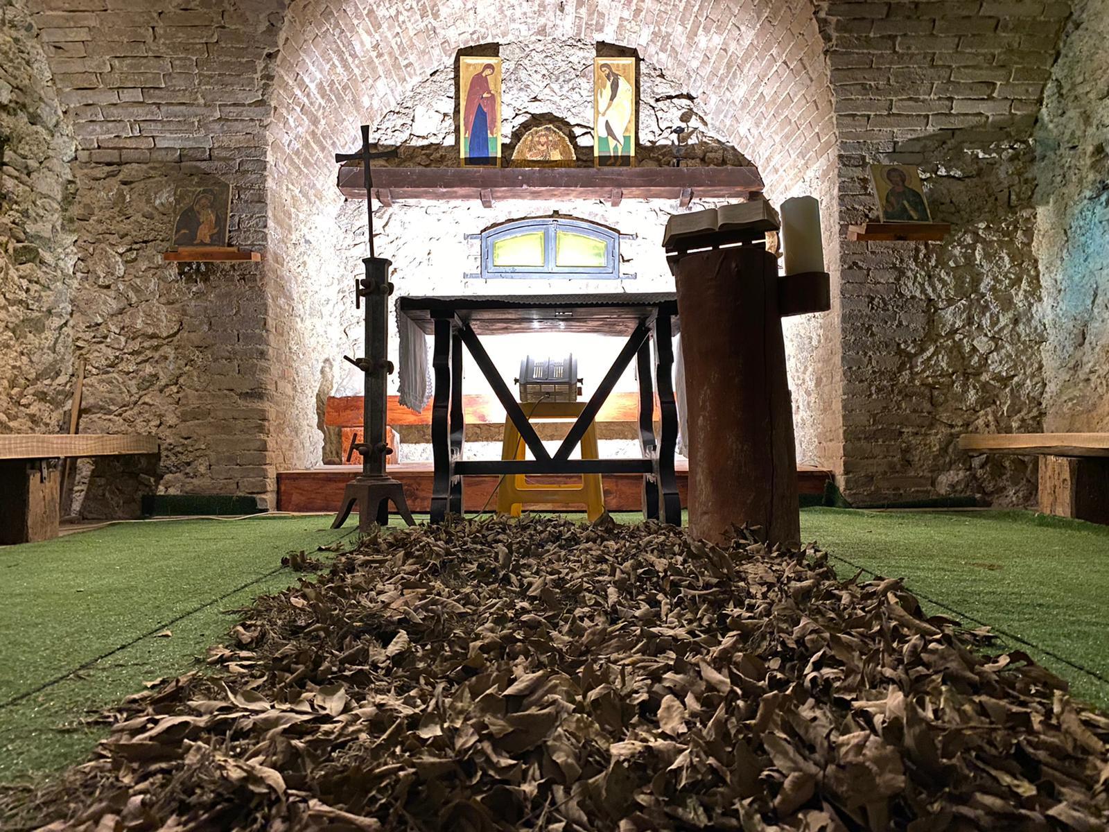Raccolta, elegante, commovente. La cappella del Forte San Jachiddu