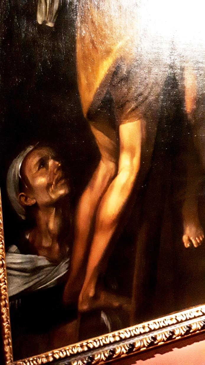 """Un dettaglio de""""La crocifissione di Sant'Andrea"""""""