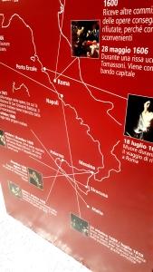 I viaggi e la travagliata vita di Caravaggio