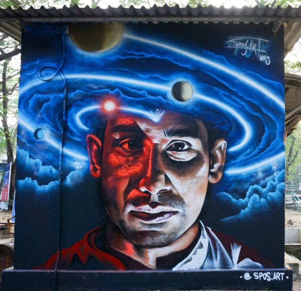 Macro micro universe - Techfest Bombay