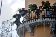 Via Garibaldi, Messina. Uno dei palazzi Coppedè