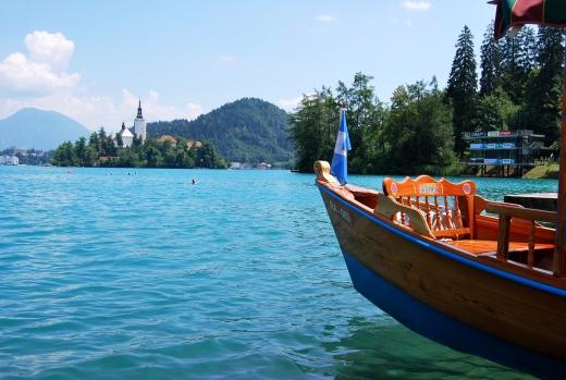 Lago di Bled. Slovenia. A meno di un'ora da Lubiana