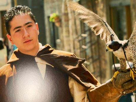 L'arte della falconeria a Geraci